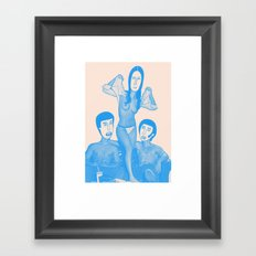 Uh-huhhuhhuh Framed Art Print
