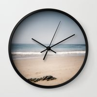 monet Wall Clocks featuring Monet by Joëlle Paquet