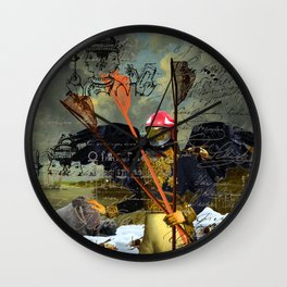 THE YOUNG KING Wall Clock