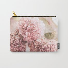 Dusty Pink Florals Carry-All Pouch
