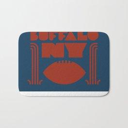 Buffalo NY Bath Mat