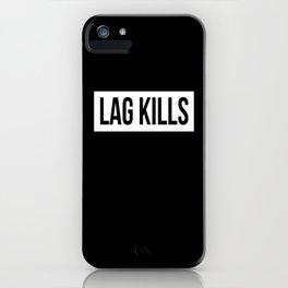 Lag Kills Gaming Console iPhone Case