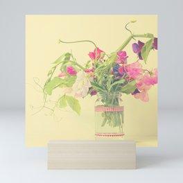 Sweet pea  Mini Art Print