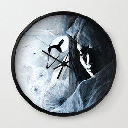 Voiles et dentelles Wall Clock