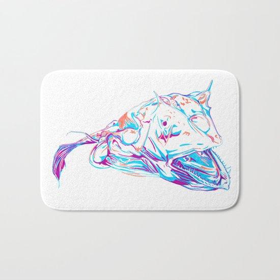 Deep Sea Monster Bath Mat