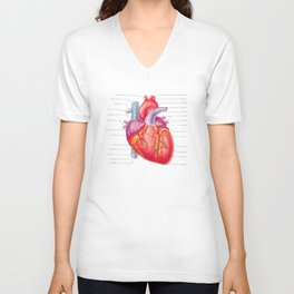 You Are Here (In My Heart) Unisex V-Neck