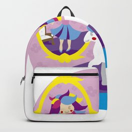 I LOVE THE UNICORNS- THE MIRROR Backpack