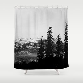 Sombre Shower Curtain
