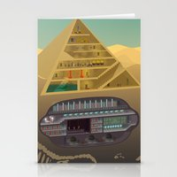 egypt Stationery Cards featuring Egypt by Xènia Castellví