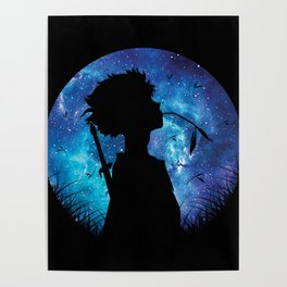 Mugen Silhouette Style Poster