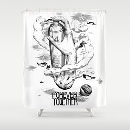 Aerosol Shower Curtain