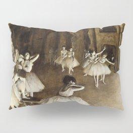 Edgar Degas - Ballet Rehearsal On Stage Pillow Sham