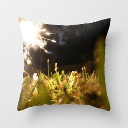 Fire Cracker Throw Pillow