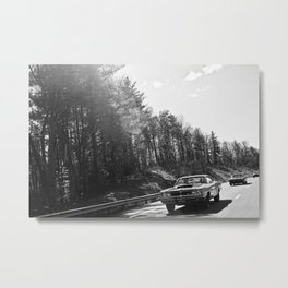 Classics Through the Smokies Metal Print