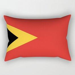 East Timor-Leste Flag Rectangular Pillow