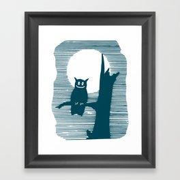 Am I what I seem? Framed Art Print