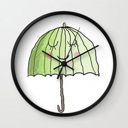 cute UMBRELLA Wall Clock