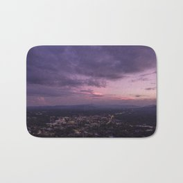 Asheville Stormy Nights Passing By Bath Mat