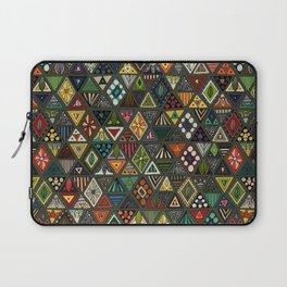 sun bear geo dark Laptop Sleeve