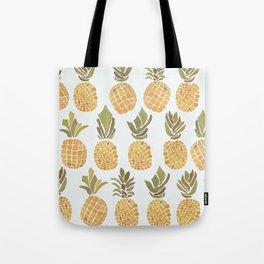 Vintage Pineapple Show Tote Bag