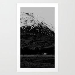 The Glen Art Print