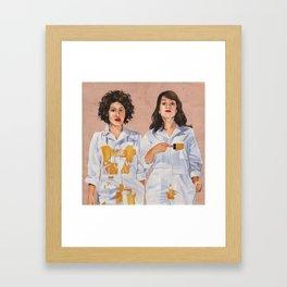 Kweens Framed Art Print