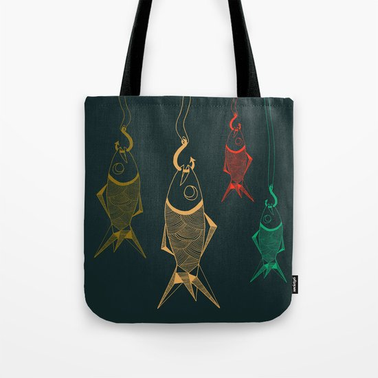 those are not fishes Tote Bag