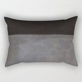 Mark Rothko Black on Grey Rectangular Pillow