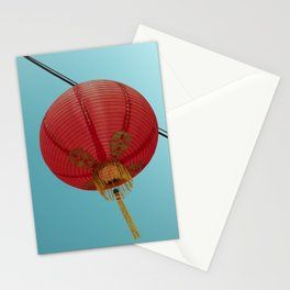 Chinese Lantern in Chinatown LA Stationery Cards