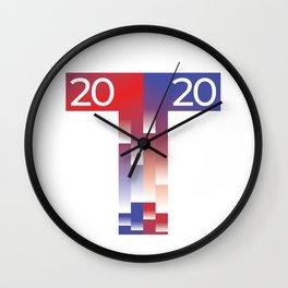 MAGA Presidential Election 2020 Trump USA T Wall Clock
