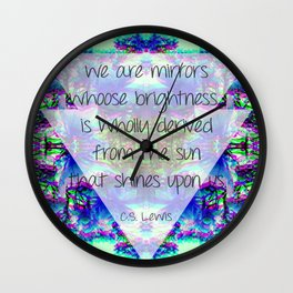 Mirrors&Spring Wall Clock