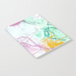 Chrystarium - Square Abstract Expressionism Notebook