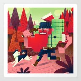 Jacques Le Brut Art Print