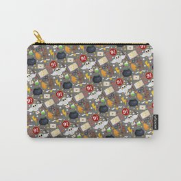 School of Magic - Large Pattern Carry-All Pouch