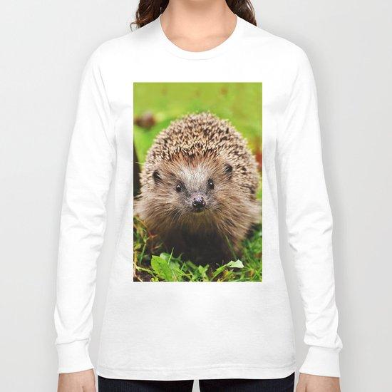Cute Little Hedgehog Long Sleeve T-shirt