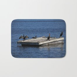 The Cormorant Clan Bath Mat