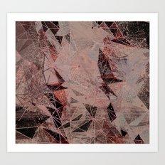 subconscious geometry Art Print