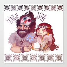 Tough Love Canvas Print