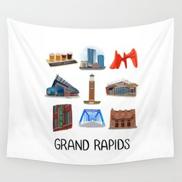 Grand Rapids Wall Tapestry