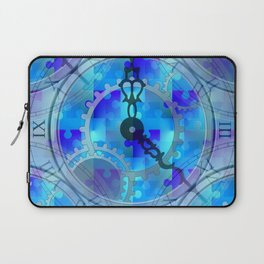 Time Puzzle Laptop Sleeve