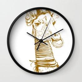 Nga Bilé Wall Clock