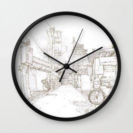 Beijing.China.Nianzi hutong 碾子胡同 Wall Clock