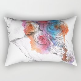 Rose Rectangular Pillow