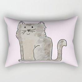 Cute and lovely cat Lupita Rectangular Pillow
