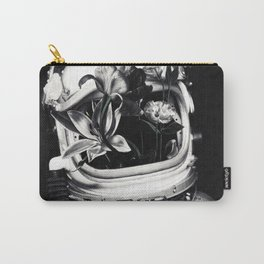 Astronauts and flowers Carry-All Pouch