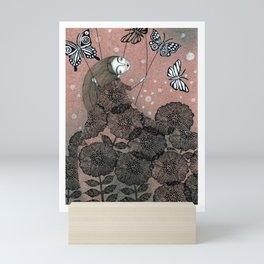 Night Garden (1) Mini Art Print