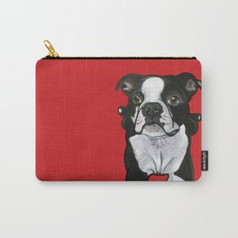 Bobo the Boston terrier Carry-All Pouch