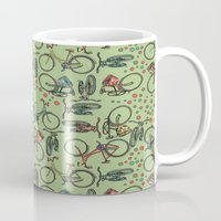 bikes Mugs featuring Bikes by Catru