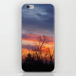 Fire Sunrise iPhone Skin