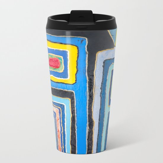 Urban Happiness Metal Travel Mug